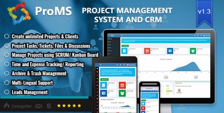 ProMS v1.3.1 - Premium Project Management System
