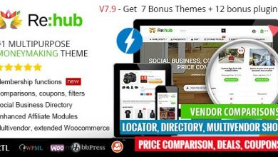REHub v7.9.5 - Price Comparison, Business Community