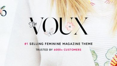 The Voux v6.2.3 – A Comprehensive Magazine Theme