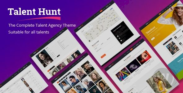 Talent Hunt v1.0.8 - WordPress Talent Management Services Template
