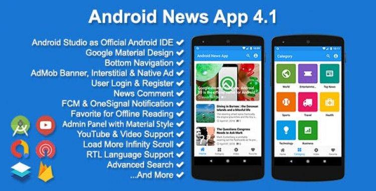 Android News App v4.1.0