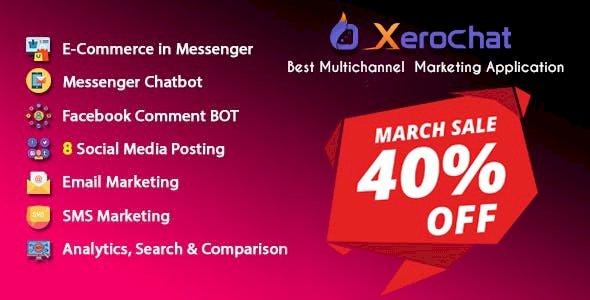 XeroChat v5.3.3 - Best Multichannel Marketing Application (SaaS Platform)