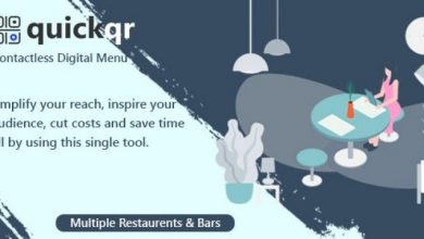 QuickQR v5.3 - Saas - Contactless Restaurant QR Menu Makers
