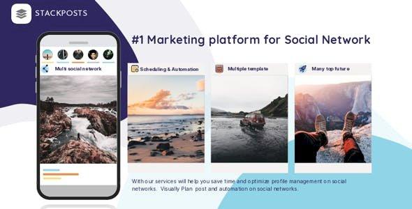 Stackposts v7.0.8 - Social Marketing Tool