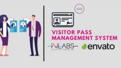 Visitor Pass Management System v3.0 Pre-Installed