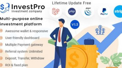 InvestPro v1.0.4 – Wallet & Banking Online Hyip Investment Platform