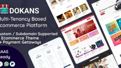 DOKANS v1.2.5 - Multitenancy Based Ecommerce Platform (SAAS)