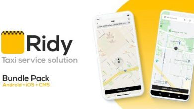 Ridy v3.4.1 - Taxi Application Android & iOS + Dashboard