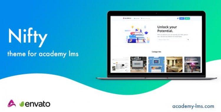 Nifty v1.3 - Academy LMS Theme