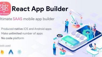 React App Builder v13.5.0 - SaaS - Unlimited number of apps