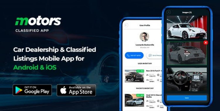 Motors v1.2 - Car Dealership & Classified Listings Mobile App for Android & iOS