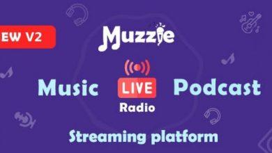 Muzzie v2.0 - Music, Podcast & Live Streaming Platform