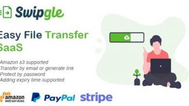 Swipgle v1.2 - Easy File Transfer SaaS