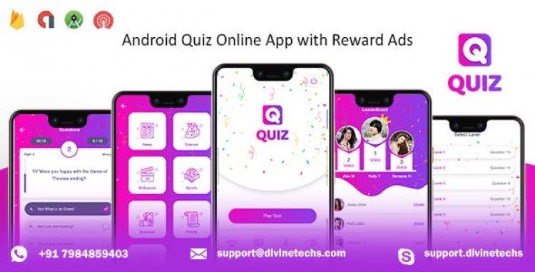 Quiz Online App v1.1 - with Earning System & Reward Ads + Admin Panel