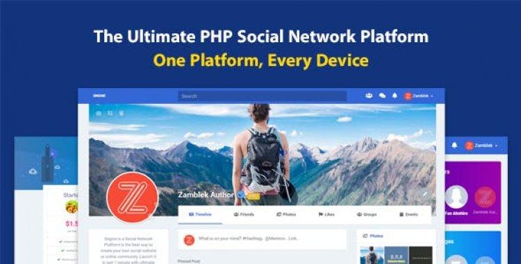 Sngine v3.2 - The Ultimate PHP Social Network Platform