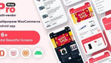 ProShop - Multipurpose E-commerce Android Full Mobile App + kotlin - 18 September 2021