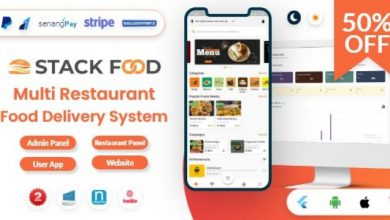 StackFood Multi Restaurant v3.0 - Food Delivery App with Laravel Admin and Restaurant Panel
