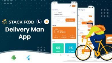 StackFood Multi Restaurant V2.1 - Food Ordering Delivery Man App
