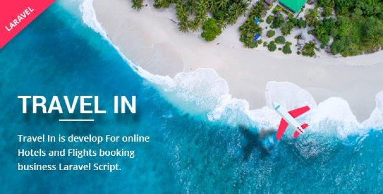 Travelin - Hotel & Air Tickets Booking Laravel Script 17 April 2021