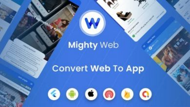 MightyWeb Flutter Webview v2.0 - Convert Your Website To An App + Admin Panel