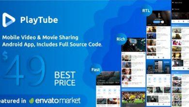 PlayTube v2.6 - Mobile Video & Movie Sharing Android Native Application (Import / Upload)