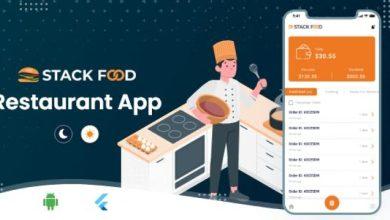 StackFood Multi Restaurant v2.0 - Food Ordering Restaurant App