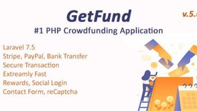 GetFund v5.2 - A Professional Laravel Crowdfunding Platform